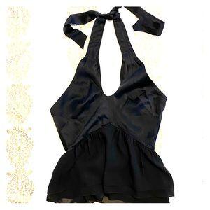 Bebe corset halter top
